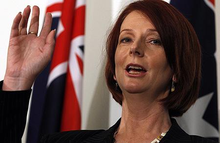 julia gillard earlobes. installed Julia Gillard.
