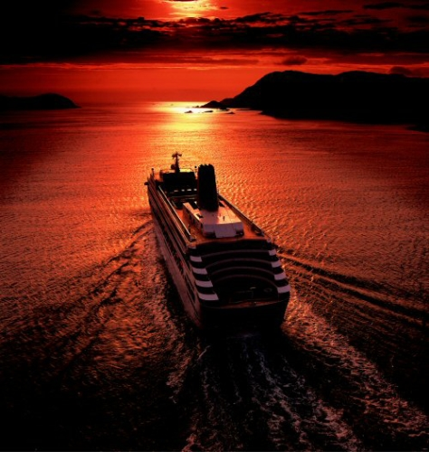 Image result for images of cruise ships at night